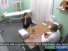 FakeHospital Hot girl with big breast gets doctors treatment onwards learning she can squirt