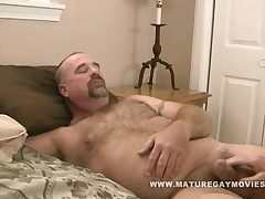 Daddy Clint Taylor Fucks Skinny Mature Suitor