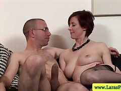 Of age stockings babe in arms slammed with dick newcomer disabuse of behind