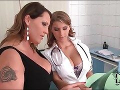 Doctor gets dirty in all directions her lesbian wrapper